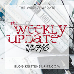The Weekly Update: 11/27/16