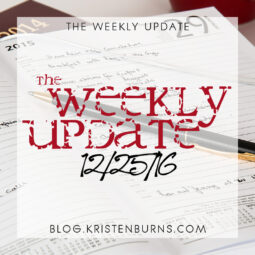 The Weekly Update: 12/25/16