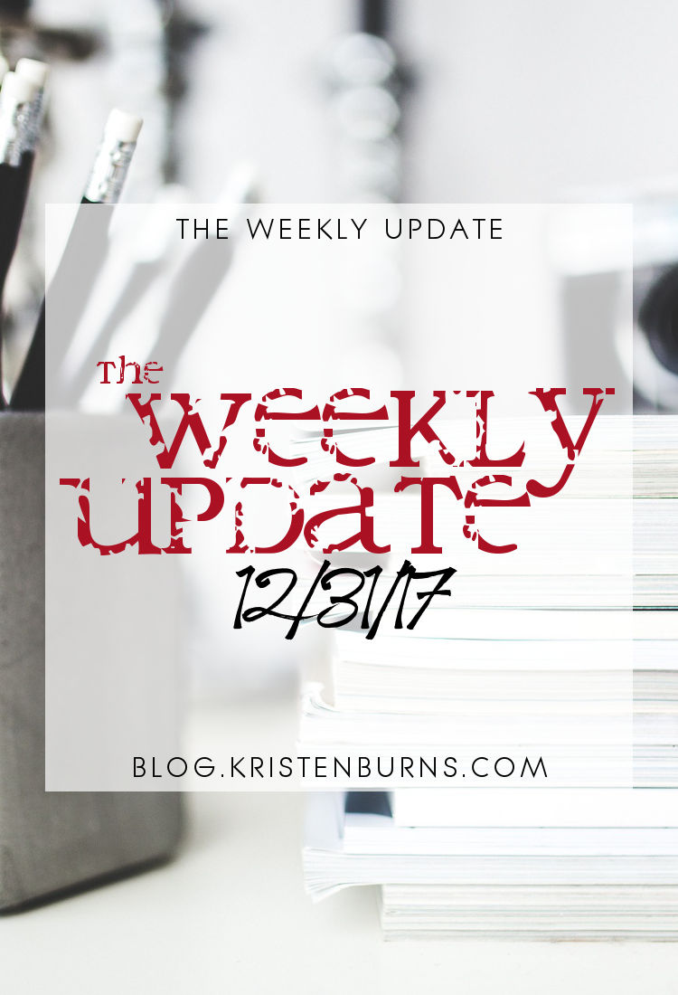 The Weekly Update: 12-31-17