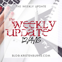The Weekly Update: 12/4/16