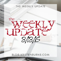 The Weekly Update: 3/13/16