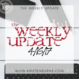 The Weekly Update: 4/16/17