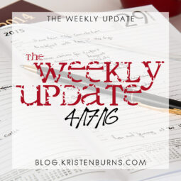 The Weekly Update: 4/17/16