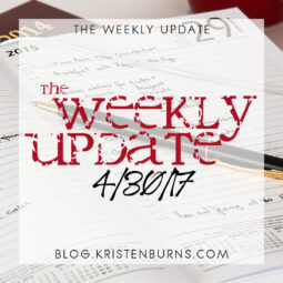 The Weekly Update: 4/30/17