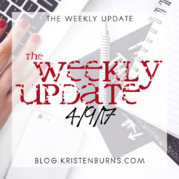 The Weekly Update: 4/9/17
