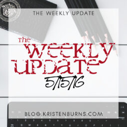 The Weekly Update: 5/15/16