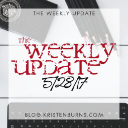 The Weekly Update: 5/28/17