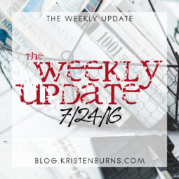 The Weekly Update: 7/24/16 + Kristen's Theory of Electronics
