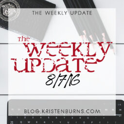 The Weekly Update: 8/7/16