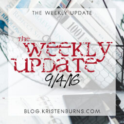 The Weekly Update: 9/4/16