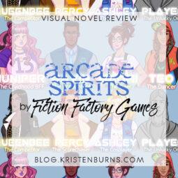 Visual Novel + Dating Sim Review: Arcade Spirits by Fiction Factory Games