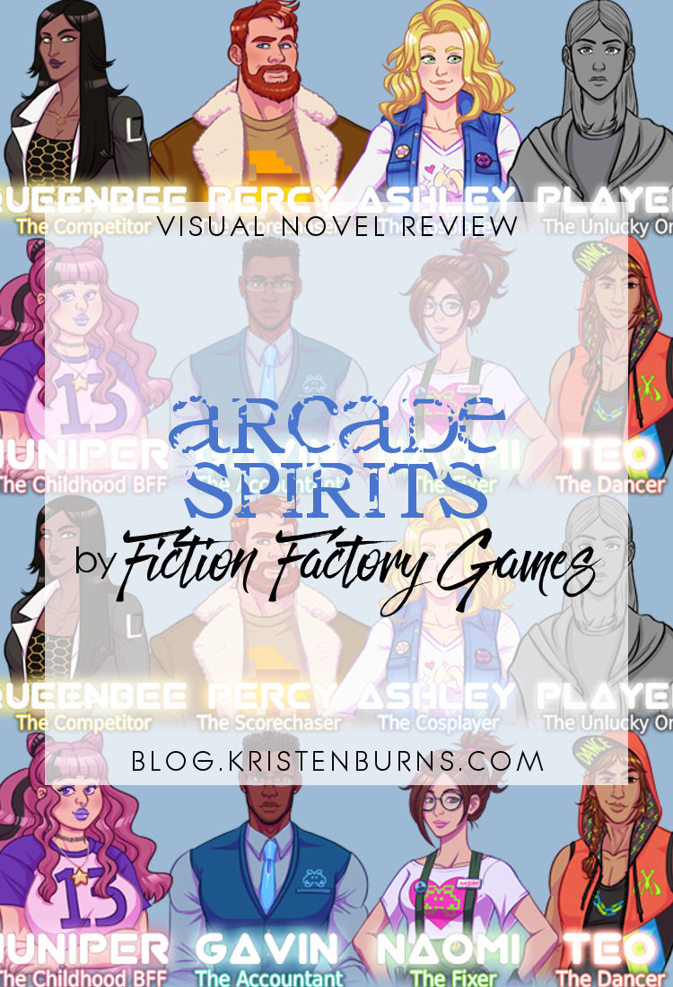 Visual Novel + Dating Sim Review: Arcade Spirits by Fiction Factory Games