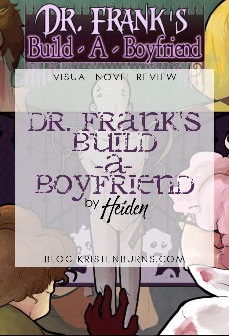 Visual Novel Review: Dr. Frank's Build-A-Boyfriend by Heiden