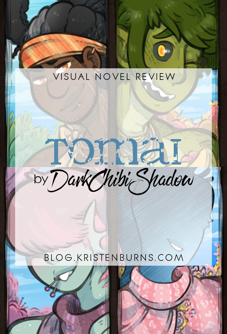 Visual Novel Review: Tomai by DarkChibiShadow