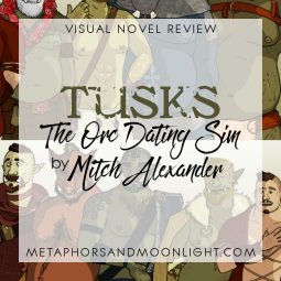 Visual Novel + Dating Sim Review: Tusks: The Orc Dating Sim by Mitch Alexander