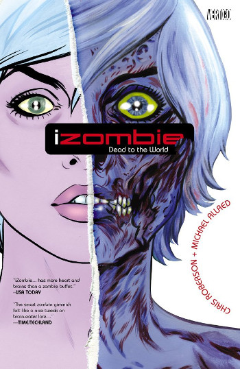 Graphic Novel Review: iZombie Vol. 1 by Chris Roberson & Michael Allred | reading, books, book reviews, graphic novel, fantasy, urban fantasy, zombies